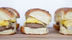Forget the  - we have an even better breakfast sandwich recipe for you. And the best part? The recipe includes the simplest secret sauce that you're going to want to smother on everything. Check it out.     From Nicole Iizuka, POPSUGAR Food    The Ultimate Breakfast Slider    Ingredients6 dinner rolls 1 tablespoon maple syrup 1 tablespoon grainy mustard 6 eggs, scrambled 6 cooked sausage patties 6 slices pepper jack cheese 1 tablespoon butter 1 teaspoon Worcestershire sauce 1/2 teaspoon ...