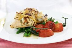 Cooking a gourmet-style menu needn't be a chore with this budget-friendly and simple stuffed chicken breast idea.