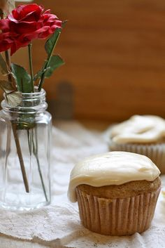 Vegan cinnamon bun cupcakes #vegan #cupcake #recipe...completely over-the-top decadent, but WOW!