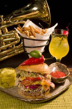 The Jazz Corner Hilton Head Island : We always love eating here...the best music and food