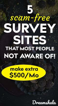 5 scam-free survey sites that most people not aware of. – Make Money Earn Money From Home, Make Money Fast, Earn Money Online, Make Money Blogging, Money Tips, Money Hacks, Earning Money, Online Surveys That Pay