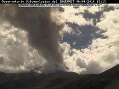 Volcanic activity worldwide 7 Apr 2014: Shiveluch, Ubinas