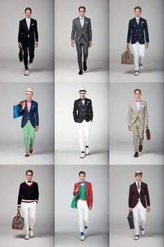 I want my wardrobe to slowly convert to this.... preppy