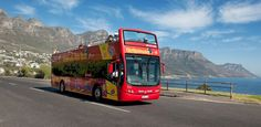 Official City tour on the Double Decker Hop on, Hop off Bus, Day Tours to Cape Point and the Wine Country, Cruises and much more! Cape Town Holidays, Sightseeing Bus, Red Bus, Blue Bus, Le Cap, Thing 1, Cape Town South Africa, Africa Travel, Day Tours