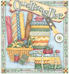 Quilting Bee Sewing and Quilt Store Front Sign