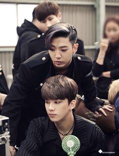 Yongguk & Youngjae