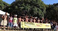 acampanamento-terra-livre1 fracking indigena