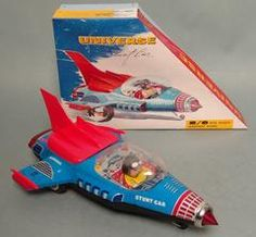 Vintage China Space Universe Stunt Car
