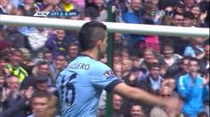 Sergio Aguero bagged a memorable hat trick against QPR a year ago today!