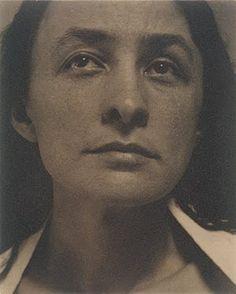 Georgia O'Keeffe  (1887-1986)  Alfred Steiglitz photographer