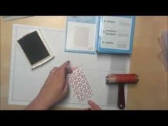 How to Color the Raised Image from an Embossing Folder - YouTube