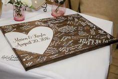 Alternative wedding guest book wood guest book by EastInADay Wood Guest Book, Rustic Wedding Guest Book, Guest Book Sign, Wedding Book, Wedding Signs, Diy Wedding, Dream Wedding, Guest Books, Wedding Ideas