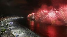 Rio de Janeiro lights up for the New Year with a gathering over 2 million people!