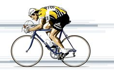 Cycling Art, Road Cycling, Cycling Bikes, Bikes Games, Bike Tattoos, Bicycle Art, Sports Art, Tandem, Bike Life