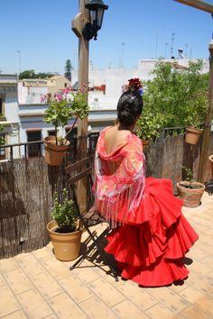 mi traje de flamenca #trajedeflameca