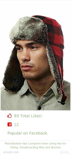 Top christmas gift on Facebook.  Top christmas gift on undefined 89 people likes on Internet. 77 thumbs-up on .undefined 7headz amazon christmas gift. plaid bomber hat complete inner lining hat for skiing snowboarding men and women from amazon christmas gifts. http://www.MostLikedGifts.com/top-popular-christmas-gifts/amazom-christmas-gift-B004ECCAFI-plaid-bomber-hat-complete-inner-lining-hat-for-skiing-snowboarding-men-and-women