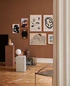 Room Ideas Bedroom, Room Decor, Wall Decor, Room Inspiration, Interior Inspiration, Interiors Magazine, Scandinavian Living, Poster Wall, Decoration