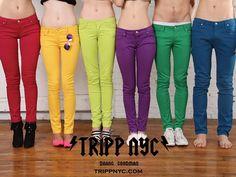 trippnyc Jeans colorati