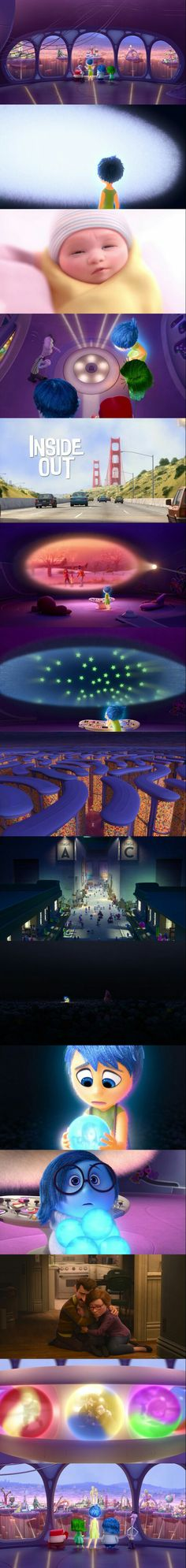 Inside Out (2015) Directed by Pete Docter.