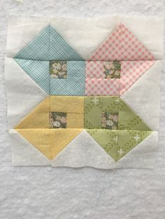 Block 89 of the Splendid Sampler Quilt