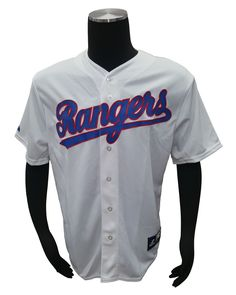Majestic Texas Rangers Napoli #25 Player Cooperstown Throwback Jersey