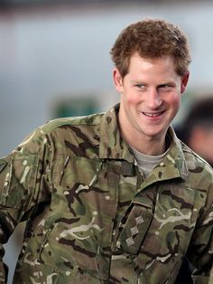 Prince Harry....got to love a man in uniform!
