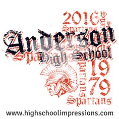 High School Impressions: Senior T-Shirts, Custom Student Council T Shirts, DECA, FBLA, High School Club TShirts - Create your own design for t-shirts, hoodies, sweatshirts. Choose your Text, Ink and Garment Colors. HS-020-w