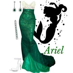 Ariel, created by alyssa-eatinger on Polyvore