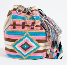 Wayuu Boho Bags with Crochet Patterns