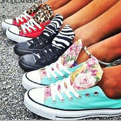 shoes converse leopard print zebra print floral red black turquoise converse chuck taylor zebra leopard print white flowers all-star red converse black converse sneakers multicolor sneakers Converse Leopard, Converse Shoes, Custom Converse, Floral Converse, Blue Converse, Diy Converse, Converse Fashion, Floral Sneakers, Slippers