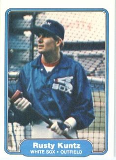 1982 Fleer # 348 Rusty Kuntz Chicago White Sox Baseball Card by Fleer. $2.88. 1982 Fleer # 348 Rusty Kuntz Chicago White Sox Baseball Card