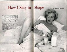 Marilyn Monroe's Workout & Diet