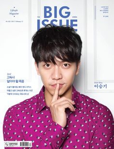 Lee Seung Gi - The Big Issue Magazine February Issue '15