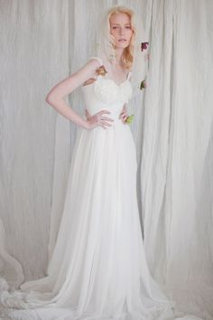 FLOWERCUP Gown by theflowerbride on Etsy, $900.00