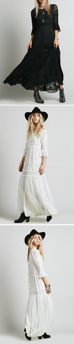Looking for effortless romance? This Bohemia Floral Embroidery Flounce Sleeve Dress is exactly the piece you've been looking for.Discover your fashion style at OASAP with amazing prices!