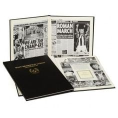 Ultimate West Brom Newspaper book, makes a great present. #wba #west brom #baggies #astle #