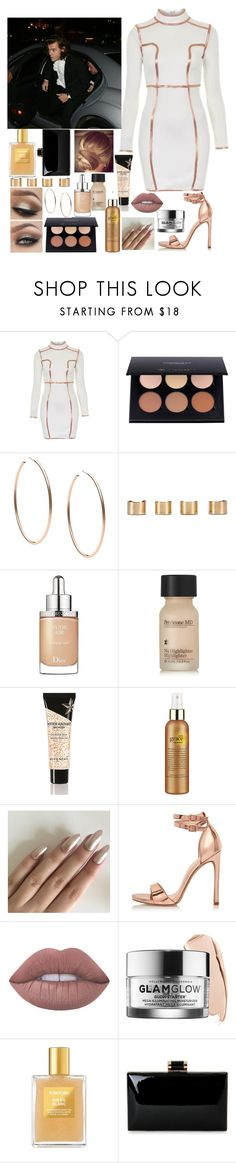 """Oscars with Harry"" by kennedey-lynn-freeman ❤ liked on Polyvore featuring Topshop, Anastasia Beverly Hills, Michael Kors, Maison Margiela, Christian Dior, Perricone MD, Givenchy, philosophy, River Island and Lime Crime"