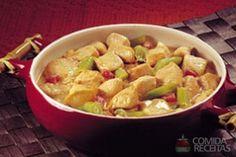 Receita de Sopa oriental de frango ao leite de coco em receitas de sopas e caldos, veja essa e outras receitas aqui!