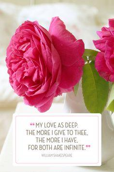 14 Romantic Valentine's Day Quotes  - HouseBeautiful.com