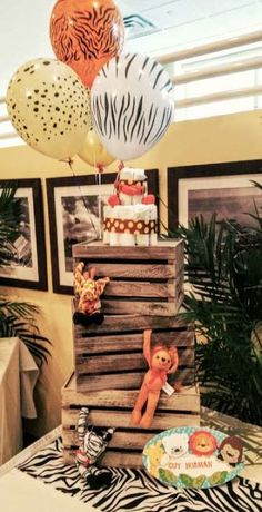baby shower decorations 281404676703755871 - Trendy Baby Shower Boy Jungle Theme Dessert Tables Ideas Source by filizardal Jungle Theme Birthday, Safari Theme Party, Jungle Party, Lion King Baby Shower, Baby Boy Shower, Baby Showers, Gaspard, Baby Shower Centerpieces, Jungle Centerpieces