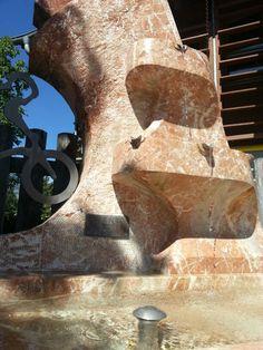 Brunnen aus Kramsacher Marmor Fountain, Marble, Sculptures, Stones