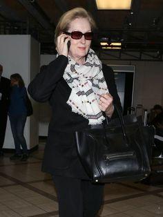 73ad7c8743 Meryl Streep Patterned Scarf