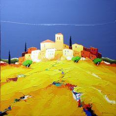 Eurgal Fantasy Landscape, Landscape Art, Landscape Paintings, 3 Piece Canvas Art, Art Village, Southwest Art, Seascape Paintings, Beach Scenes, Land Art