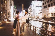 28 Epic Engagement and Pre-Wedding Photos Featuring Breathtaking Cityscape!