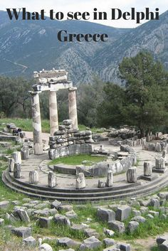 Visit the archaeological site of Delphi as a day trip from Athens
