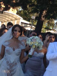 #Swan #wedding #dress designed by #StephenKhalil for Melissa