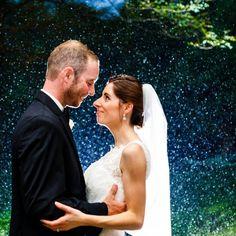 A rainy yet surreally beautiful Brantwyn Estate wedding by Bartlett Pair Photography.