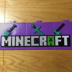 Minecraft perler beads by sailorswife78                                                                                                                                                      Mehr
