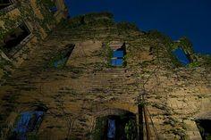 The ruins of Hot Wells Hotel, San Antonio, TX