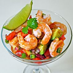 This fresh and delicious shrimp cocktail is very easy to prepare.